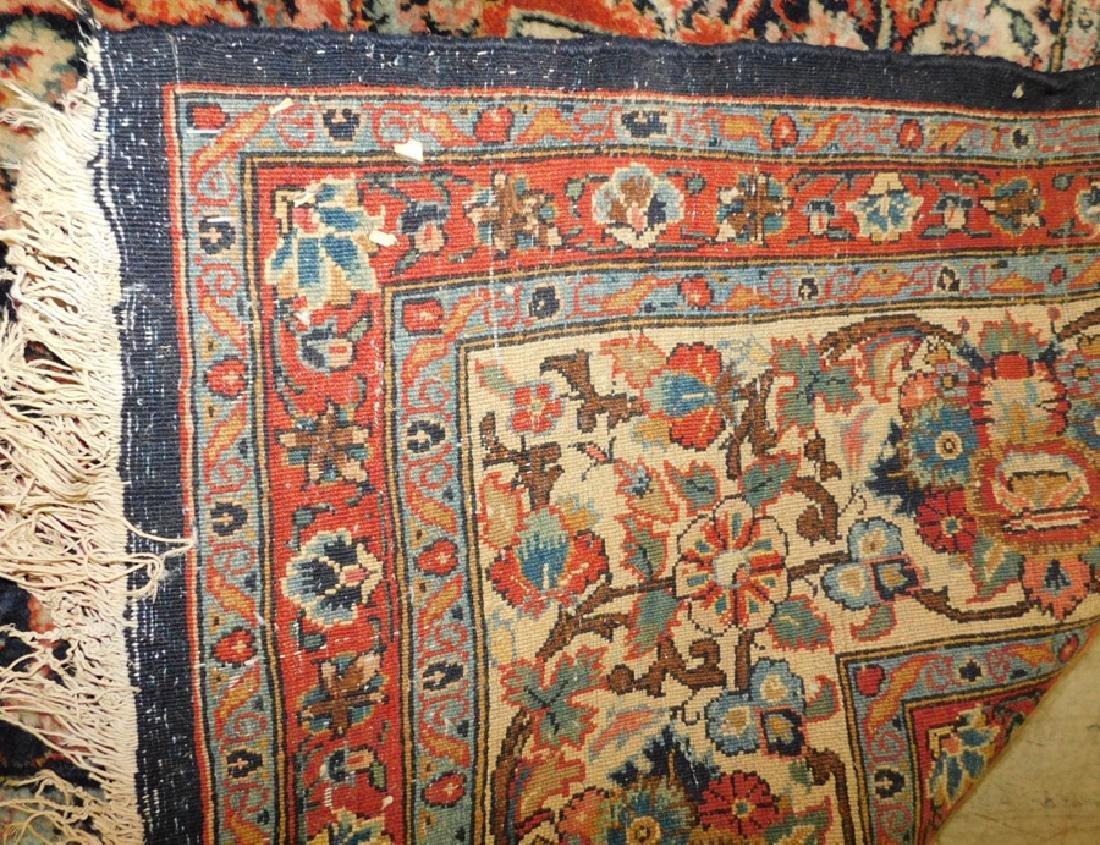 "8' 5""x 12' handmade Oriental rug - 4"