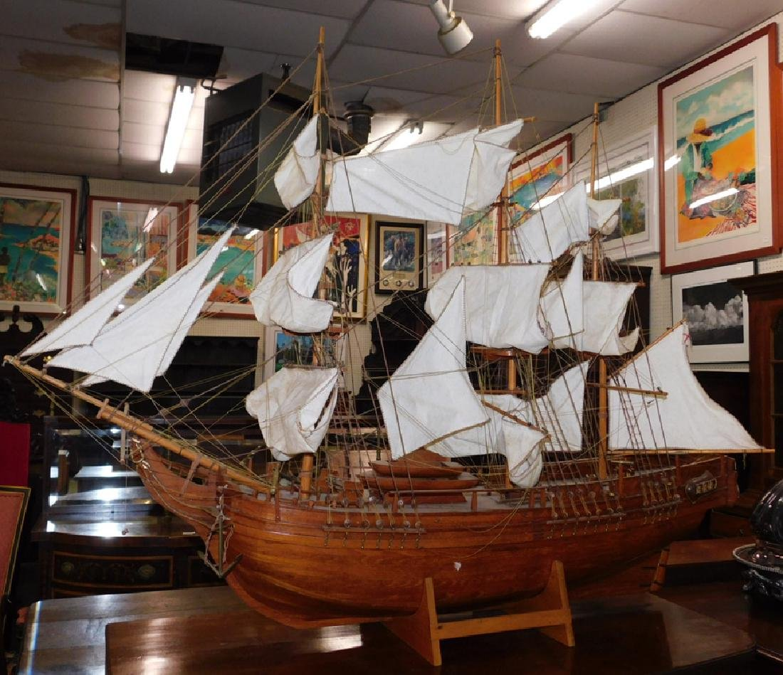 HMS Bounty Mariner's Wharf Houtbaai tall ship