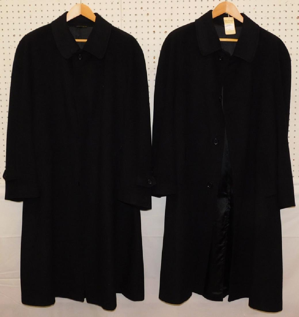 2 Guido De Medici cashmere dress coats