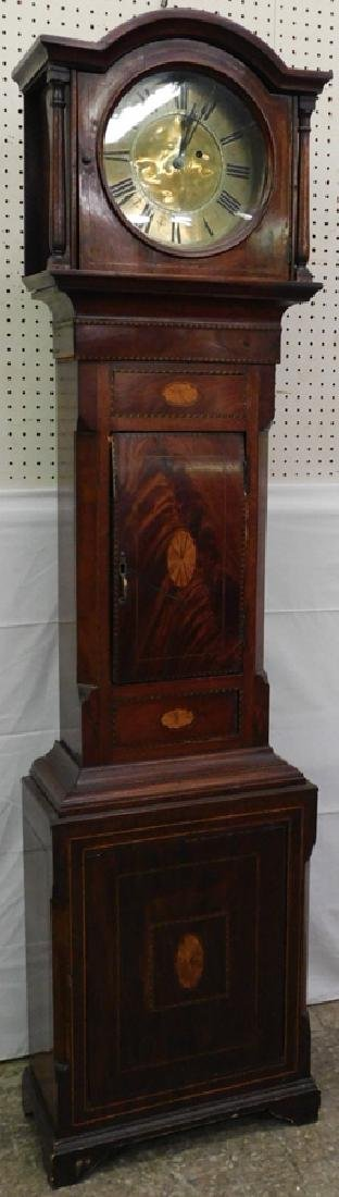 30 hr inlaid case grandmother one-day clock