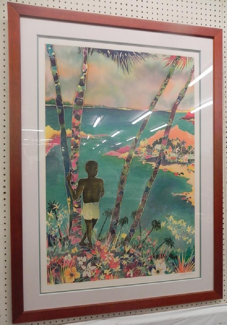 Modern Jennifer Markes framed print