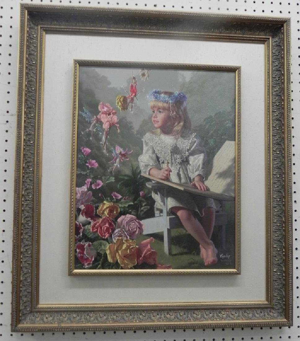 Print on canvas - signed Byerley