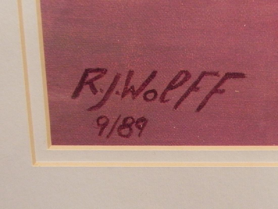 RJ Wolff print of female dancer - 2
