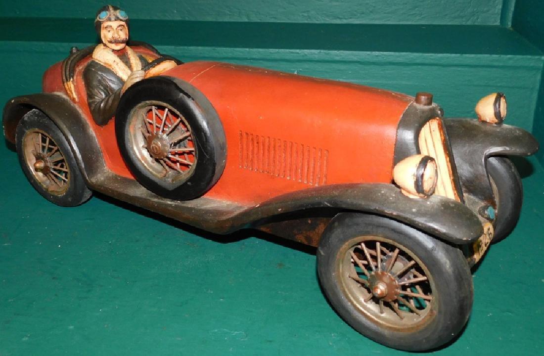 1926 English fiberglass Racer - Reproduction