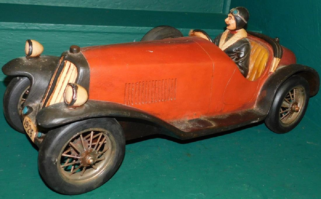 1926 English fiberglass Racer - Reproduction - 3