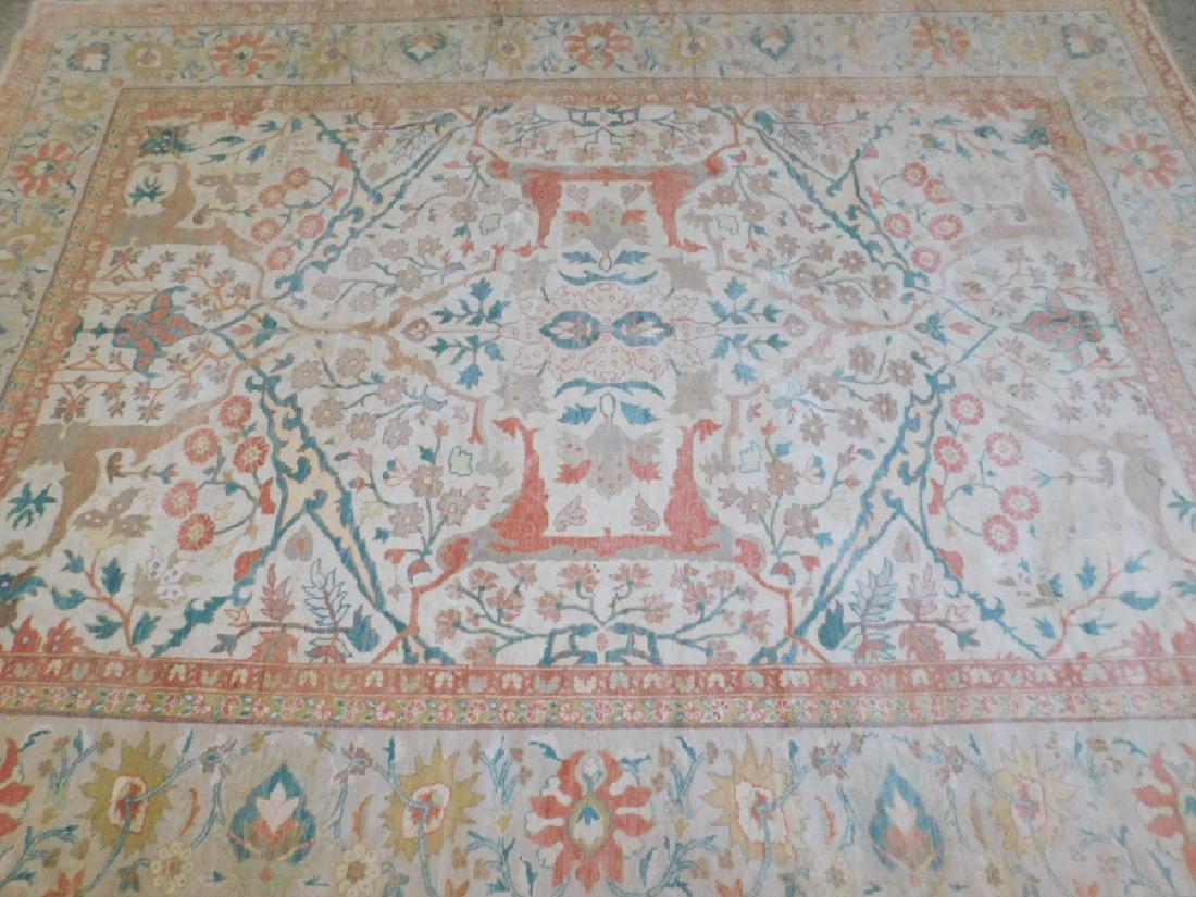 "13' X 9'7"" handmade oriental rug - 2"