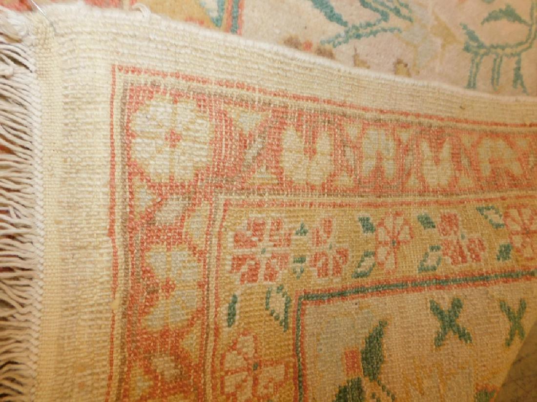 "13' X 9'7"" handmade oriental rug - 4"