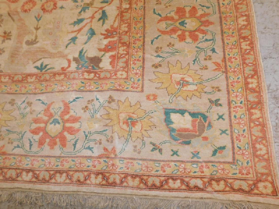 "13' X 9'7"" handmade oriental rug - 5"