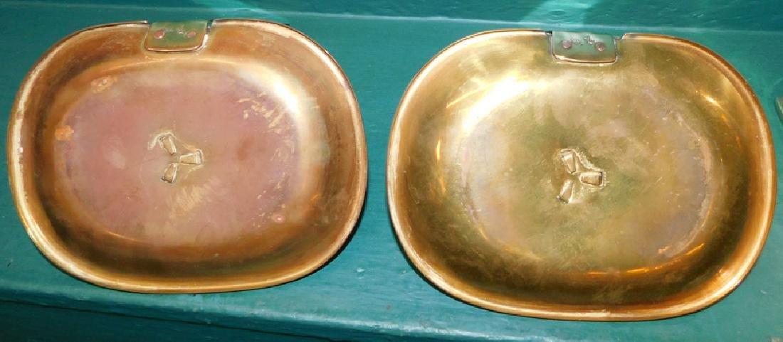 Pr Brass Colonial Williamsburg Candlesticks - 2