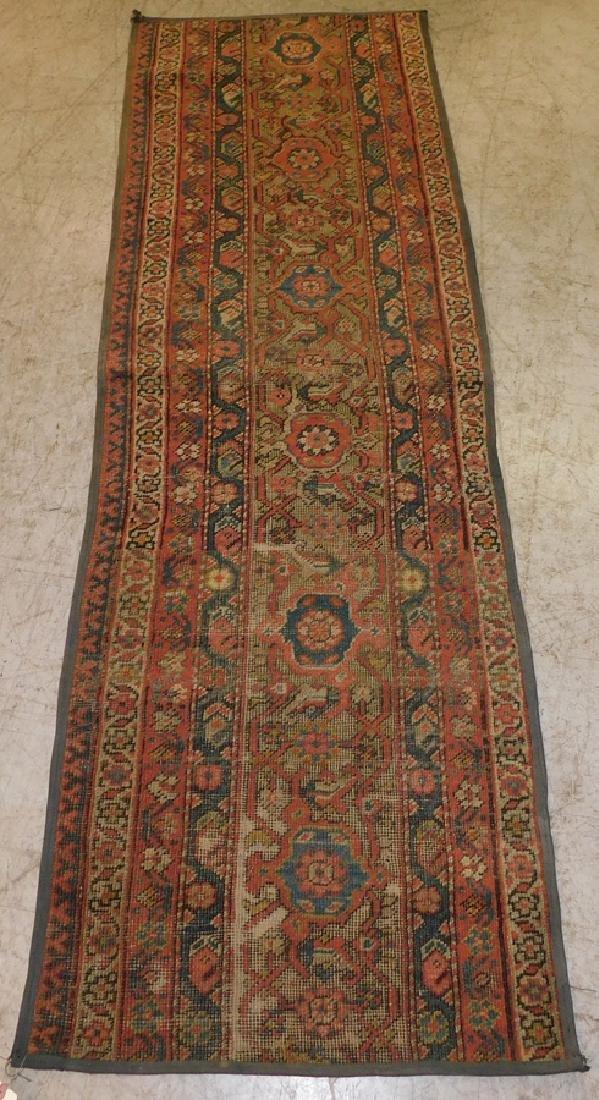"2' 2"" X 6' 9"" Antique Handmade Oriental Rug"