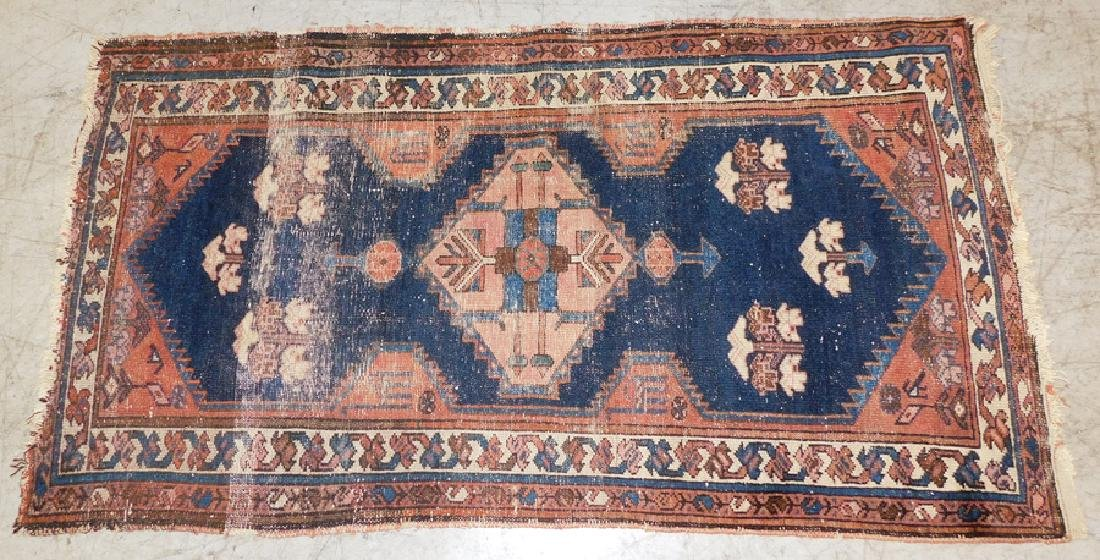 "2' 6"" X 4' 6"" Antique Handmade Oriental Rug"