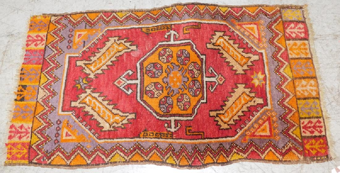 "2' 1"" X 3' 9"" Antique Handmade Oriental Rug"