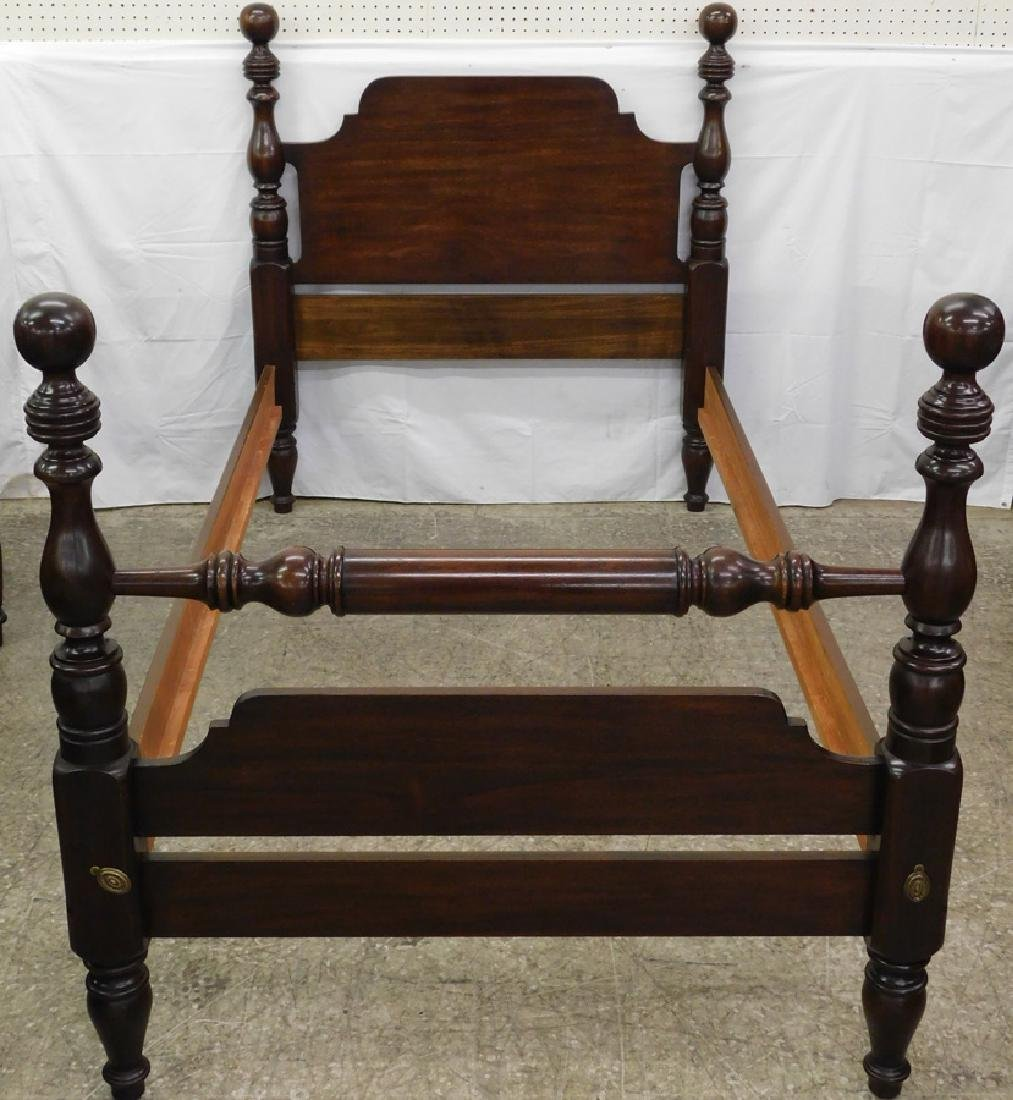 Henkel Harris Mahogany Single Bed