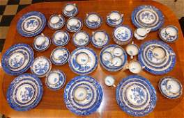 82 Pc Booths Willow China For Tiffany & Co.