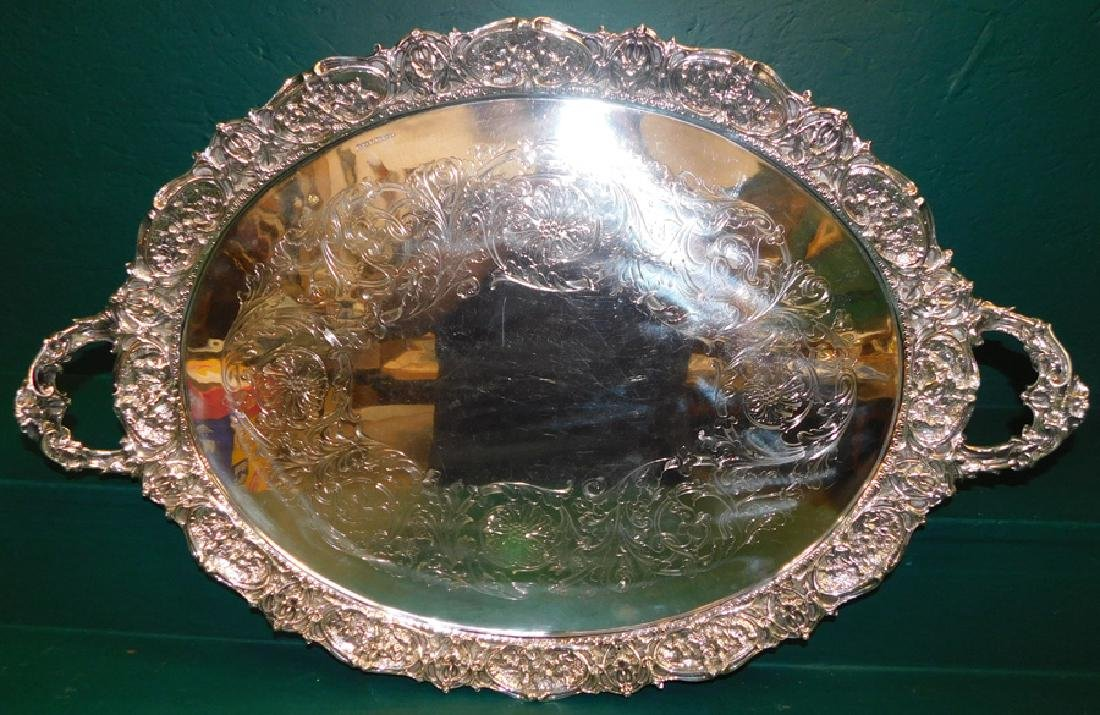 English Sterling 2-Handle Tray 151.66 TO
