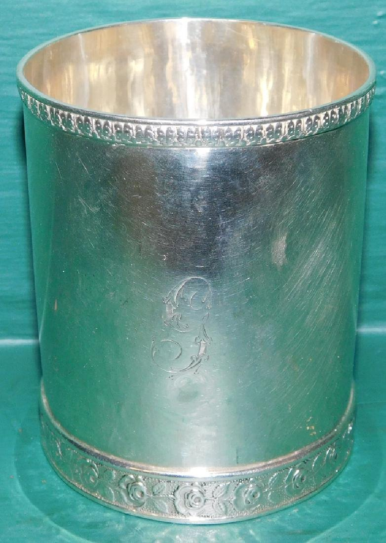 S. Kirk & Son Coin Silver Julep Cup 5.11 To