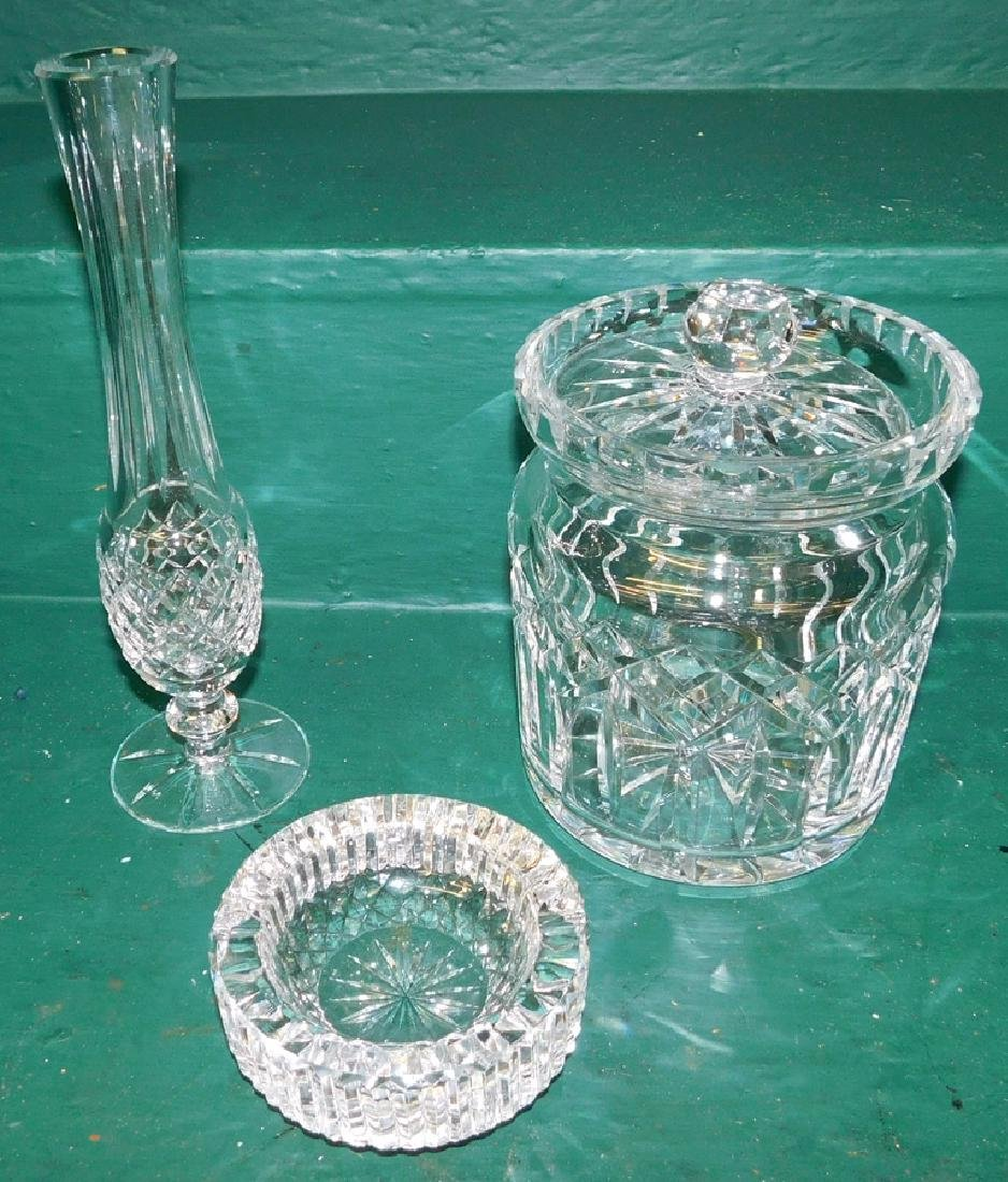 Lot 3 Pc Waterford Crystal