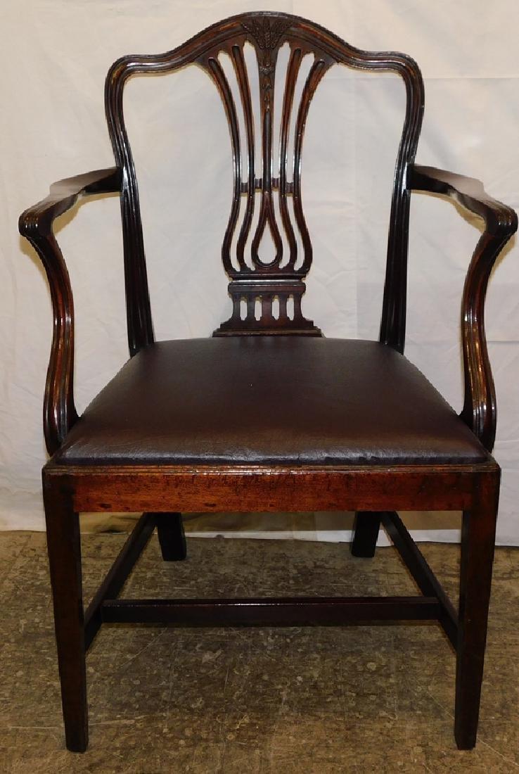 Period Mahogany Hepplewhite Arm Chair