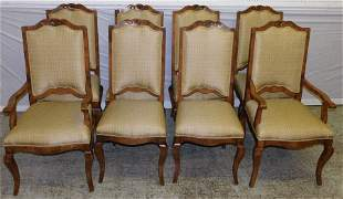 Set of 8 Guy Chaddock dining chairs
