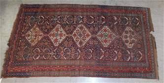 5 X 9 Antique Handmade Oriental Rug
