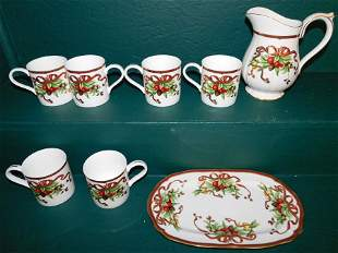 8 Holiday Pattern Dishes By Tiffany & Co