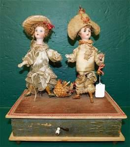 Antique Mechanical Doll