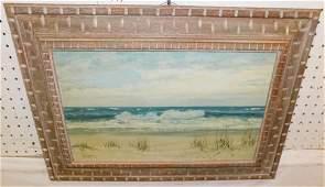 OOC Beach Scene Signed Herbert Foerster