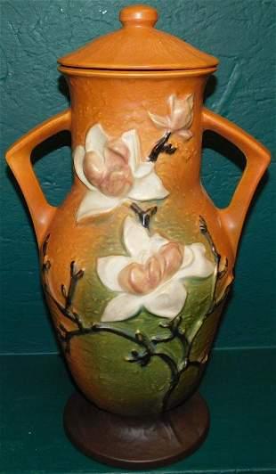 Roseville Magnolia Covered Urn