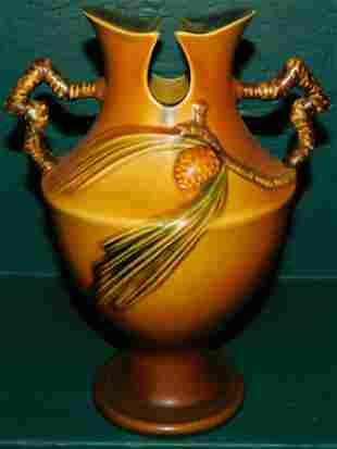 Roseville Pinecone Urn