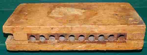 Wooden Cigar Mold