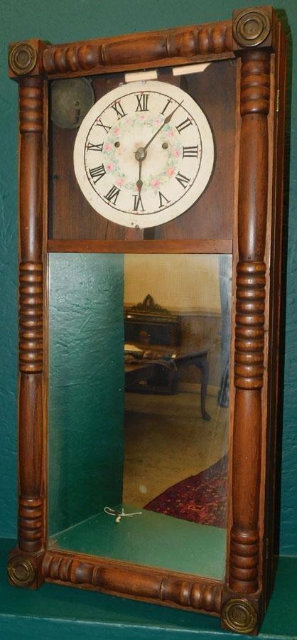 Benjamin Morrill Wall Clock (No weight & Pendulum)