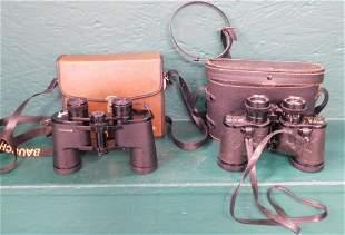 Sears Binoculars And Bausch & Lomb Binoculars