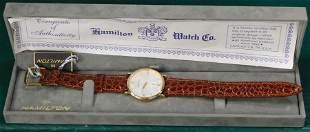 Hamilton Watch W/ Leather Band