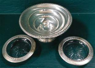 Three Sterling Weighted Items