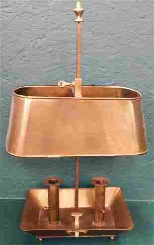 Brass Candle Lamp