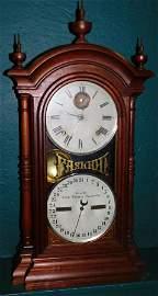 Walnut Seth Thomas Fashion Clock