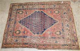 4 6 X 6 4 Antique Handmade Oriental Rug