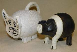 Pottery Pig & Ben Watford Pottery Pig