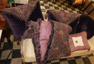 Lot of Pillows & Matching Comforter