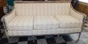 Regency Style Distress Painted Sofa