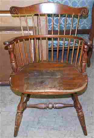 Cherry Windsor Chair by Frederick & Duckloe Bros.