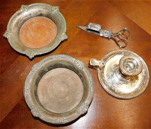 4 Pieces of Shefield Silverplate