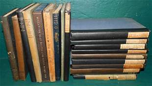 Lot 18 Antique Library Books