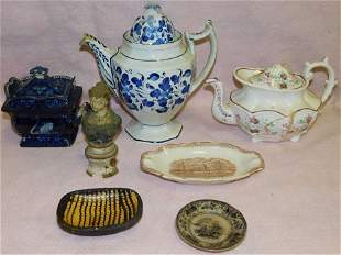 Lot Antique Porcelain (Some As Is)