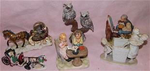 Lot Porcelain Figurines