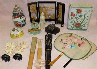 Lot Oriental Porcelain