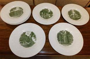 Lot of 8 Wedgwood Plates