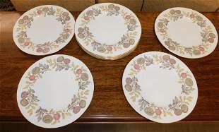 12 Wedgwood Plates Lichfield