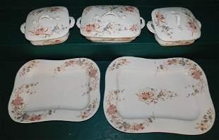 "5 Pc Porcelain Mark & Gutherz ""Carlsbad"" China"
