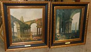 Pair Framed Prints